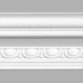 Плинтус потолочный с рисунком DECOMASTER 95106 (135х125х2400мм)