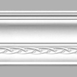 Плинтус потолочный с рисунком DECOMASTER 95107 (120х105х2400мм)
