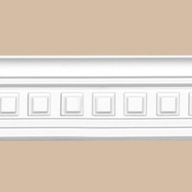 Плинтус потолочный с рисунком DECOMASTER 95126 (60*55*2400мм)