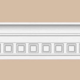 Плинтус потолочный с рисунком DECOMASTER 95132 (88*41*2400мм)