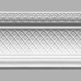 Плинтус потолочный с рисунком DECOMASTER 95140 (150х163х2400мм)