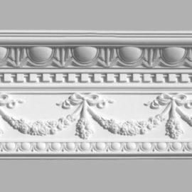 Плинтус потолочный с рисунком DECOMASTER 95142 (240х100х2400мм)