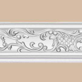 Плинтус потолочный с рисунком DECOMASTER 95292F гибкий (94*94*2400мм)