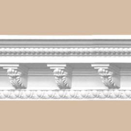 Плинтус потолочный с рисунком DECOMASTER 95338 (94*94*2400мм)