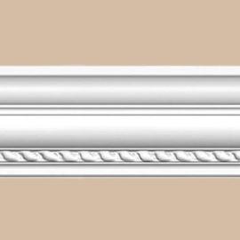 Плинтус потолочный с рисунком DECOMASTER 95349 (77*75*2400мм)