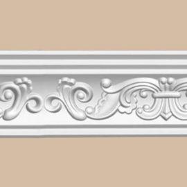 Плинтус потолочный с рисунком DECOMASTER 95406 (73*76*2400мм)