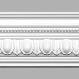 Плинтус потолочный с рисунком DECOMASTER 95608 (105х100х2400мм)