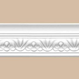 Плинтус потолочный с рисунком DECOMASTER 95609F гибкий (52*56*2400мм)