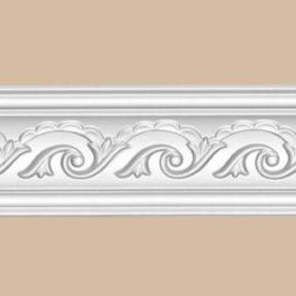 Плинтус потолочный с рисунком DECOMASTER 95610 (60*60*2400мм)