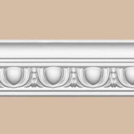 Плинтус потолочный с рисунком DECOMASTER 95613F гибкий (55*55*2400мм)