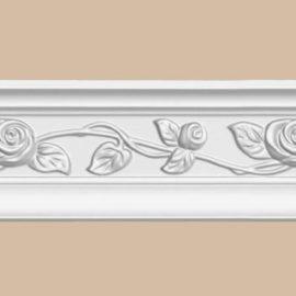Плинтус потолочный с рисунком DECOMASTER 95614 (78*60*2400мм)
