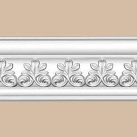 Плинтус потолочный с рисунком DECOMASTER 95617 (82*85*2400мм)