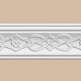 Плинтус потолочный с рисунком DECOMASTER 95619 (70*40*2400мм)