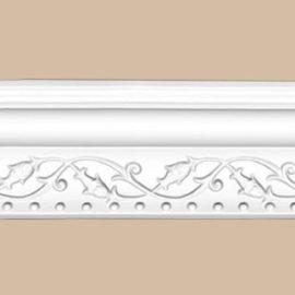 Плинтус потолочный с рисунком DECOMASTER 95621 (84*74*2400мм)