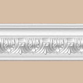 Плинтус потолочный с рисунком DECOMASTER 95622F гибкий (70*70*2400мм)