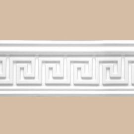 Плинтус потолочный с рисунком DECOMASTER 95655F гибкий (53*53*2400мм)