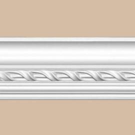 Плинтус потолочный с рисунком DECOMASTER 95673 (77*81*2400мм)