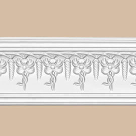 Плинтус потолочный с рисунком DECOMASTER 95696 (107*70*2400мм)