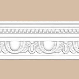 Плинтус потолочный с рисунком DECOMASTER 95769 (90*70*2400мм)
