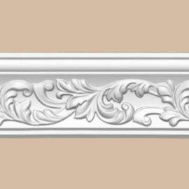 Плинтус потолочный с рисунком DECOMASTER 95775F гибкий (70*70*2400мм)