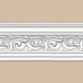 Плинтус потолочный с рисунком DECOMASTER 95777 (85*85*2400мм)