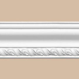 Плинтус потолочный с рисунком DECOMASTER 95779 (85*85*2400мм)