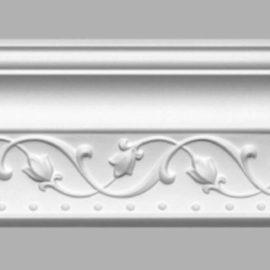Плинтус потолочный с рисунком DECOMASTER 95821 (100х102х2400мм)
