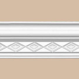Плинтус потолочный с рисунком DECOMASTER 95825 (80*68*2400мм)