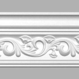 Плинтус потолочный с рисунком DECOMASTER 95831 (115х105х2400мм)