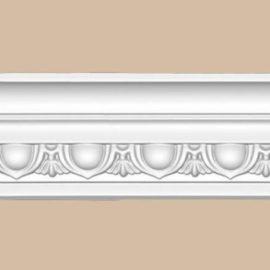 Плинтус потолочный с рисунком DECOMASTER DT23F гибкий (80*48*2400мм)