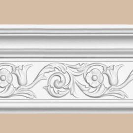 Плинтус потолочный с рисунком DECOMASTER DT-303 (143*60*2400мм)