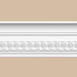 Плинтус потолочный с рисунком DECOMASTER DT-36F гибкий (83*42*2400мм)