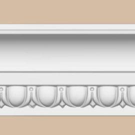Плинтус потолочный с рисунком DECOMASTER DT168 (150*80*2400мм)