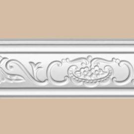 Плинтус потолочный с рисунком DECOMASTER DT9 (70*35*2400мм)