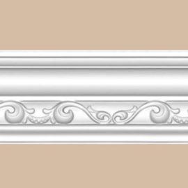 Плинтус потолочный с рисунком DECOMASTER DT9807 (97*68*2400мм)