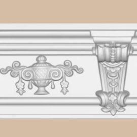 Плинтус потолочный с рисунком DECOMASTER DT9885 (170*143*2400мм)