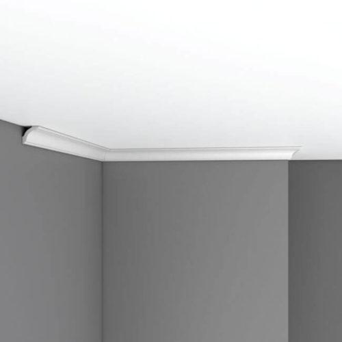 Плинтус потолочный гладкий DECOMASTER 96251F гибкий (25*25*2400мм)