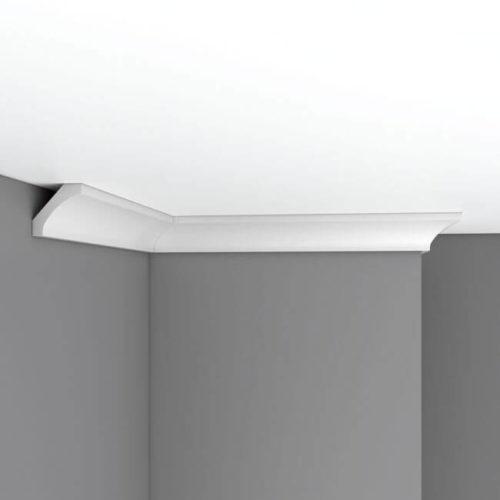 Плинтус потолочный гладкий DECOMASTER 96010 (50*50*2400мм)
