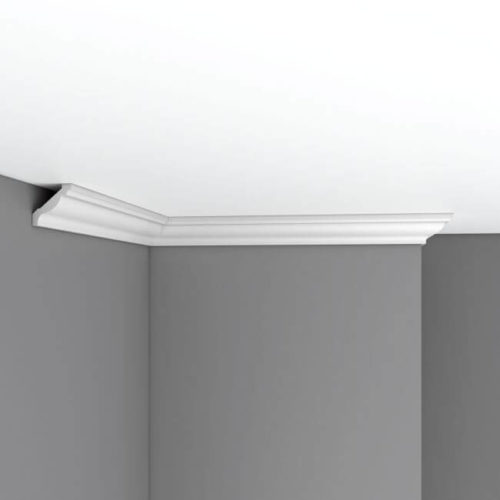 Плинтус потолочный гладкий DECOMASTER 96015 (40*40*2400мм)