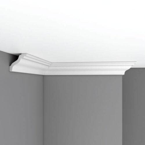 Плинтус потолочный гладкий DECOMASTER 96105 (60*60*2400мм)