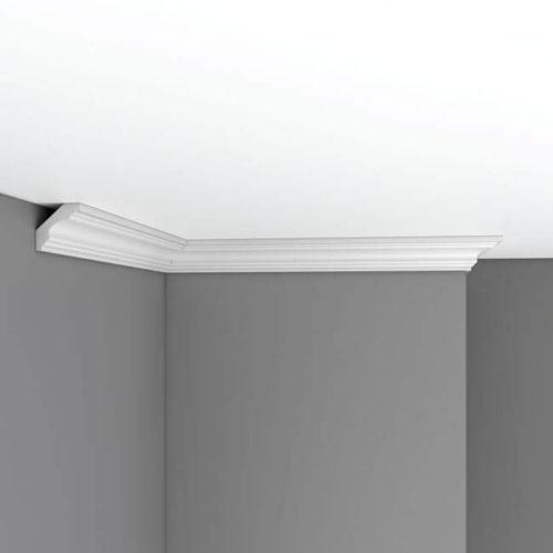Плинтус потолочный гладкий DECOMASTER 96159 (41*41*2400мм)