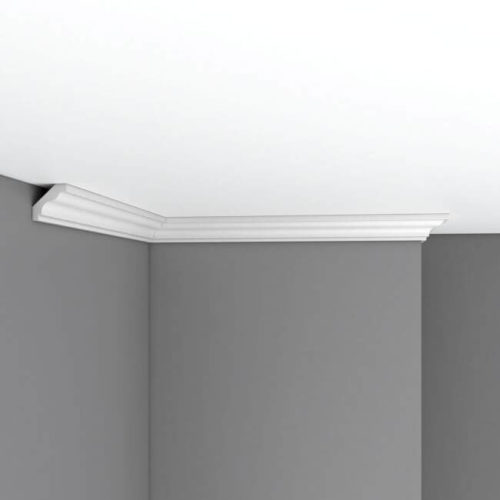 Плинтус потолочный гладкий DECOMASTER 96230 (35*35*2400мм)