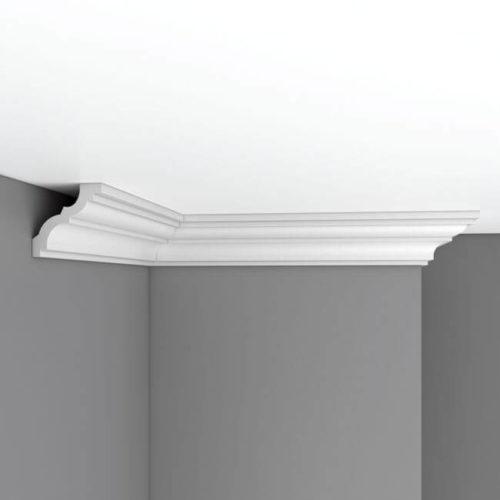 Плинтус потолочный гладкий DECOMASTER 96614 (70*70*2400мм)