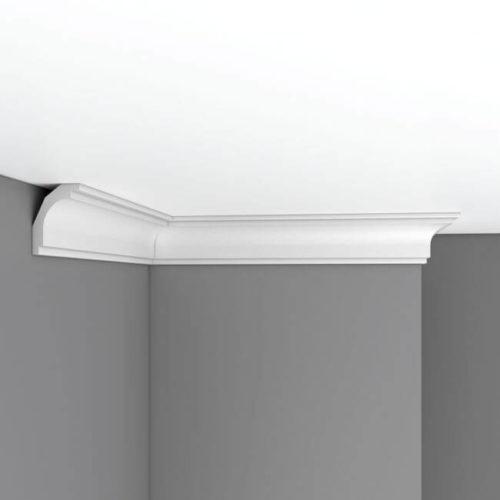 Плинтус потолочный гладкий DECOMASTER DP16A (68х55х2400)