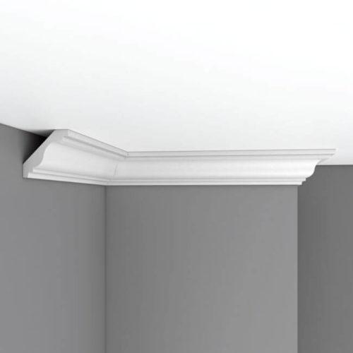 Плинтус потолочный гладкий DECOMASTER DP336 (65*65*2400мм)