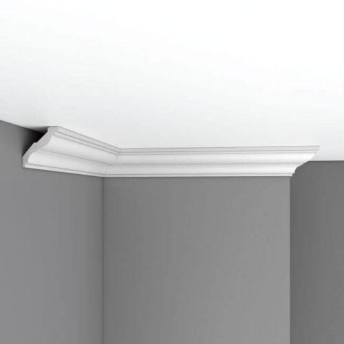 Плинтус потолочный гладкий DECOMASTER DP350 (57*53*2400мм)