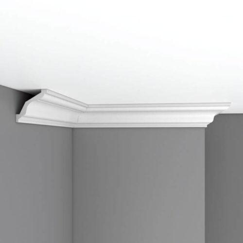 Плинтус потолочный гладкий DECOMASTER DP352 (65*65*2400мм)