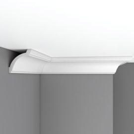 Плинтус потолочный гладкий DECOMASTER 96020 (85*85*2400мм)