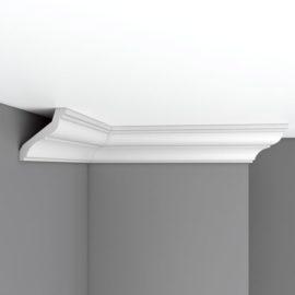 Плинтус потолочный гладкий DECOMASTER 96120 (80*84*2400мм)