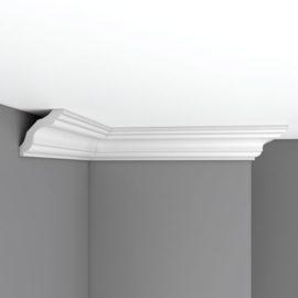 Плинтус потолочный гладкий DECOMASTER 96259F гибкий (75*75*2400мм)